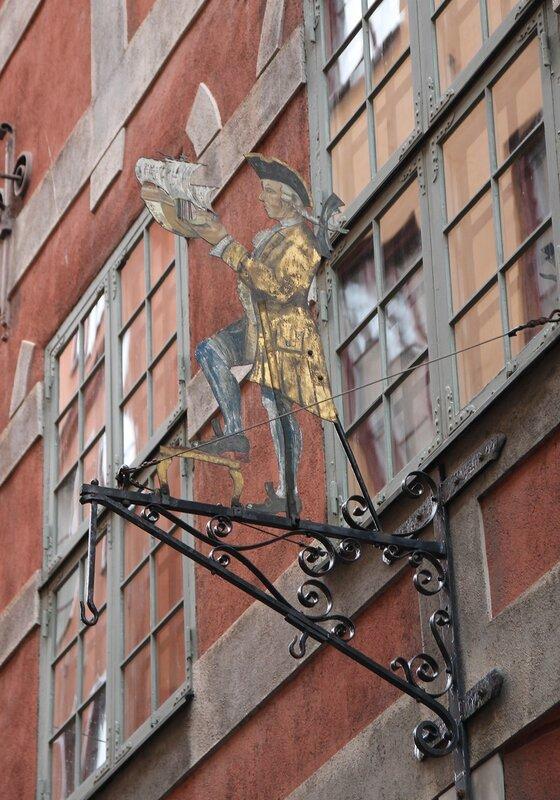 Стокгольм, Гамла Стан. Дом Бартеля. Bartelska huset.  Stockholm, Gamla Stan
