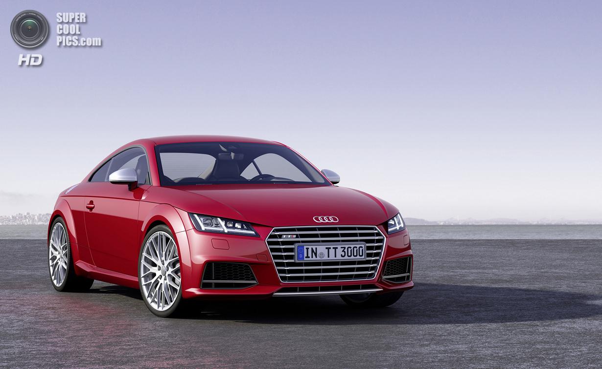 «Заряженный» Audi TT нового поколения (11 фото)
