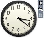 Рис. 3.32. Мини-приложение Часы
