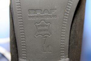Профессиональные фигурные ботинки Graf Edmonton Special (Швейцария) в полноте LL