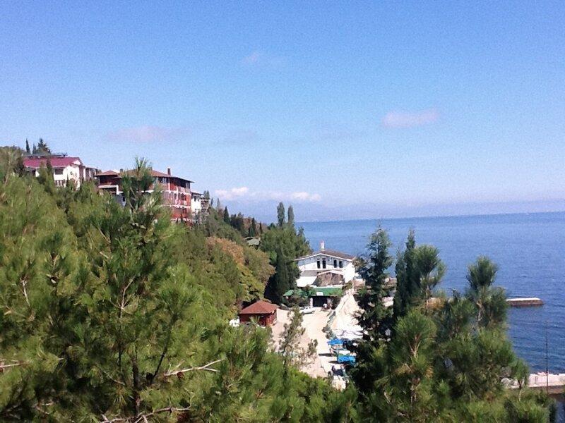 Затерянный отель у самого моря. Волшебный Партенит.