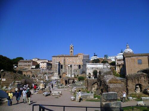 Италия. Рим. Форум (Italy. Rome. Forum)