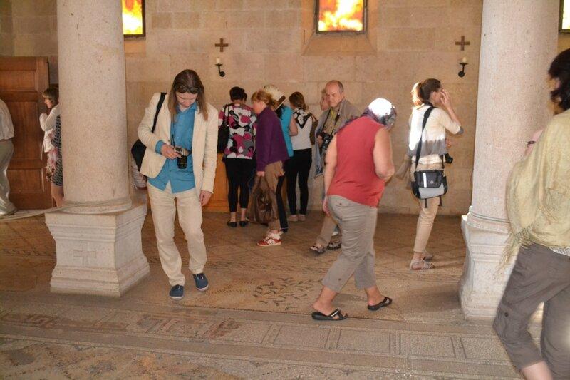 Церковь Умножения хлебов и рыб. Галилейское море. Израиль. 2013