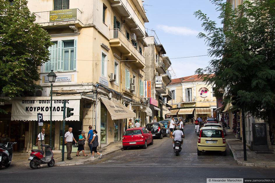 Улицы утренней Керкиры