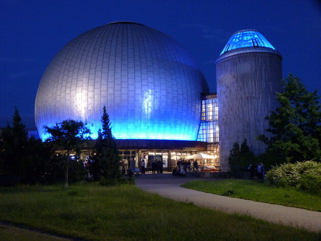 Большой планетарий Карла Цейса. Берлин