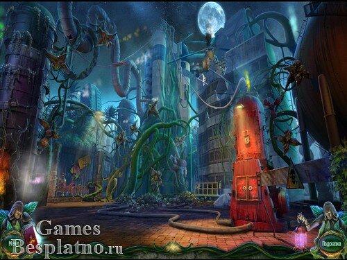 Город оживших лиан