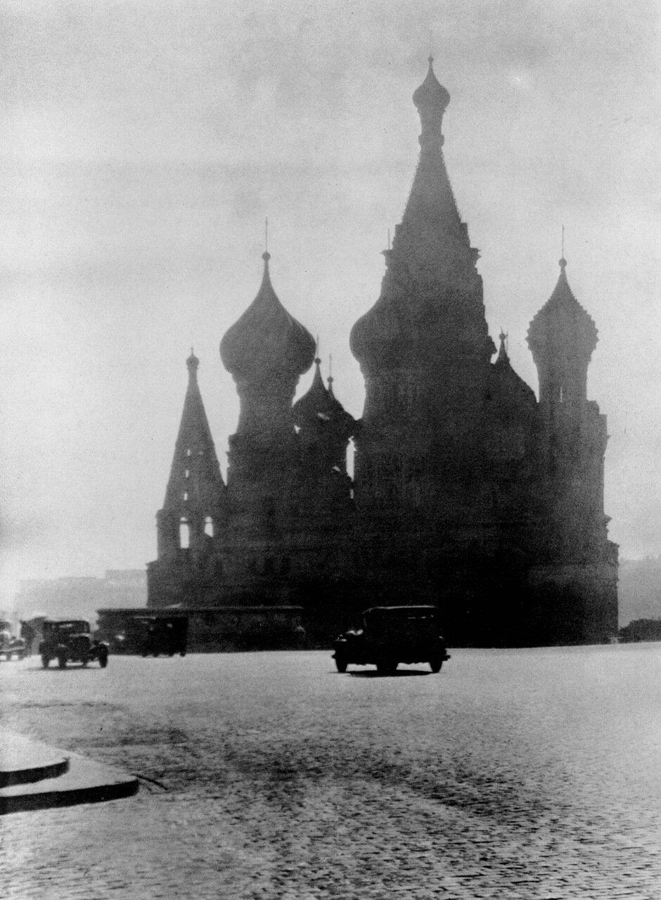 Москва утром. 1940 год.