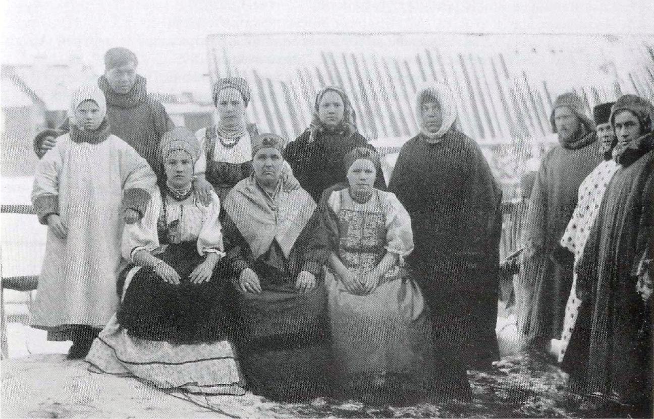 Крестьяне Мезенского уезда.1894