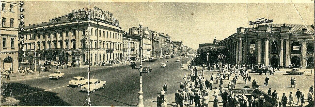 Невский проспект, 1965 год.