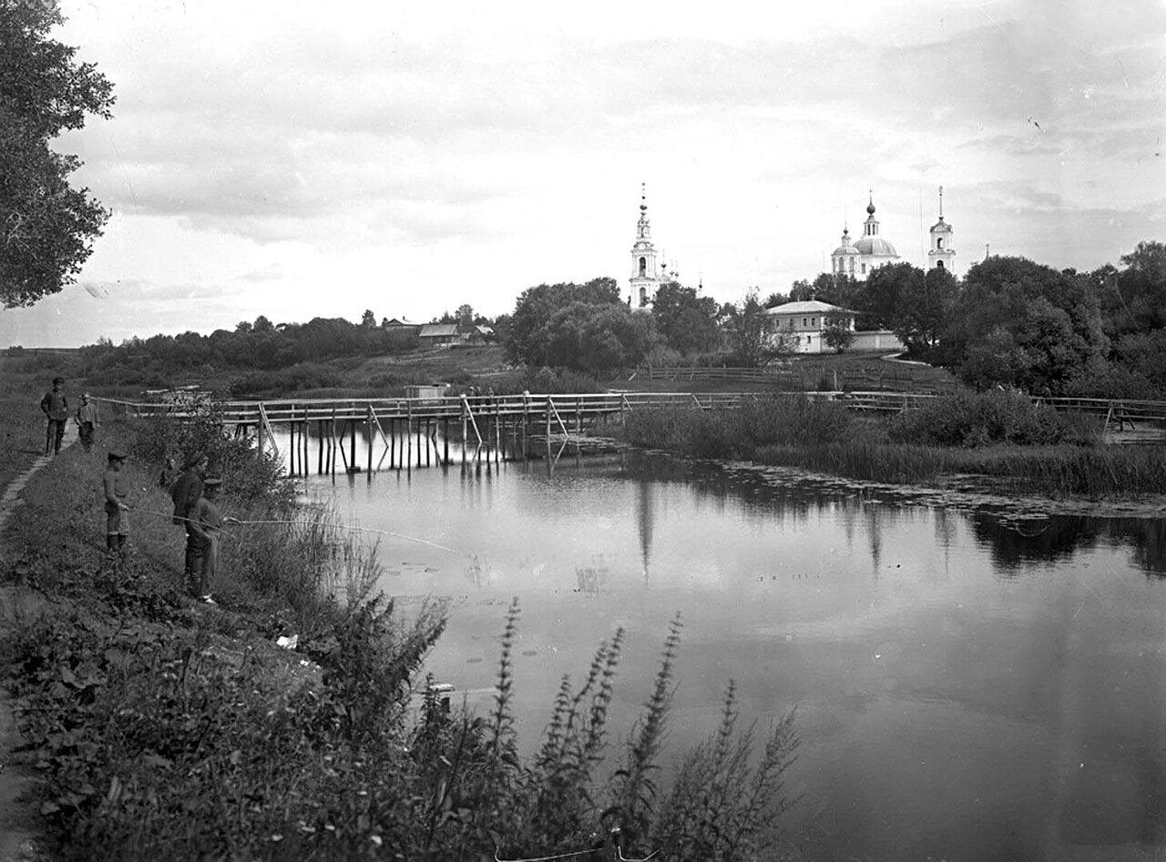 Клобуковский монастырь и церковь Введения. 1894 г. г. Кашин, Тверская губерния