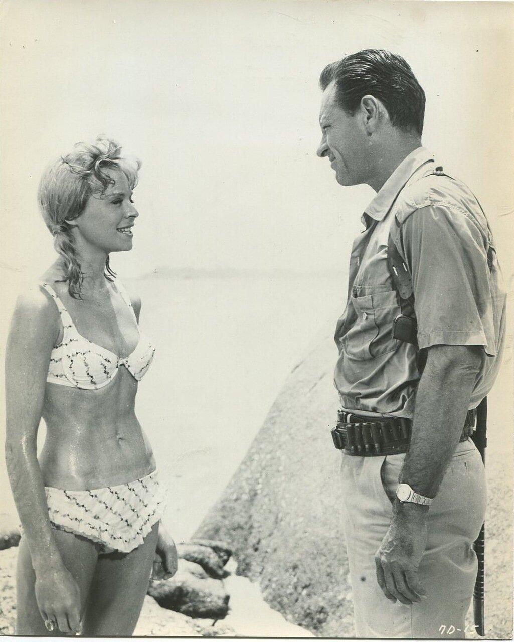 1964. Сюзанна Йорк и Уильям Холден