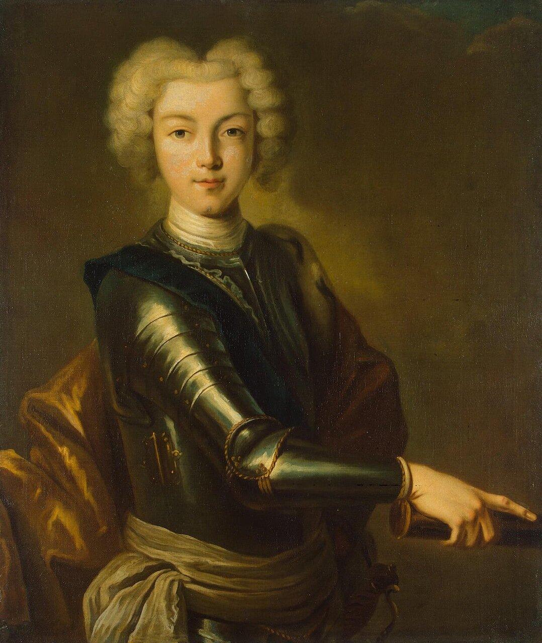 Иоганн Ведикинд. Портрет Петра II Алексеевича