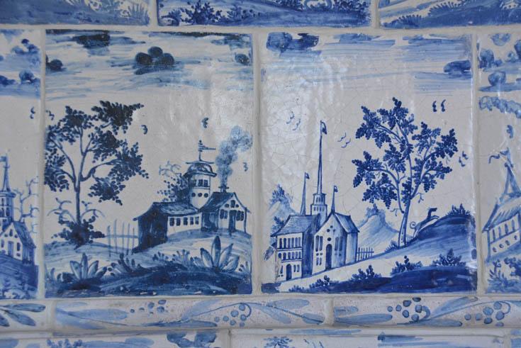 Печи из дворца Кадриорг, Таллин