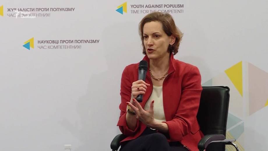 Известная журналистка Энн Эплбаум презентовала в Киеве книгу о Голодоморе (видео)