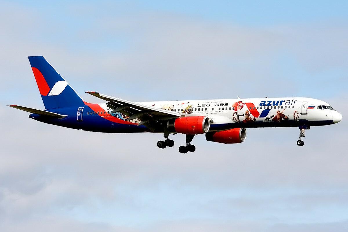 Boeing 757-28A. Azur Air. VP-BLV.