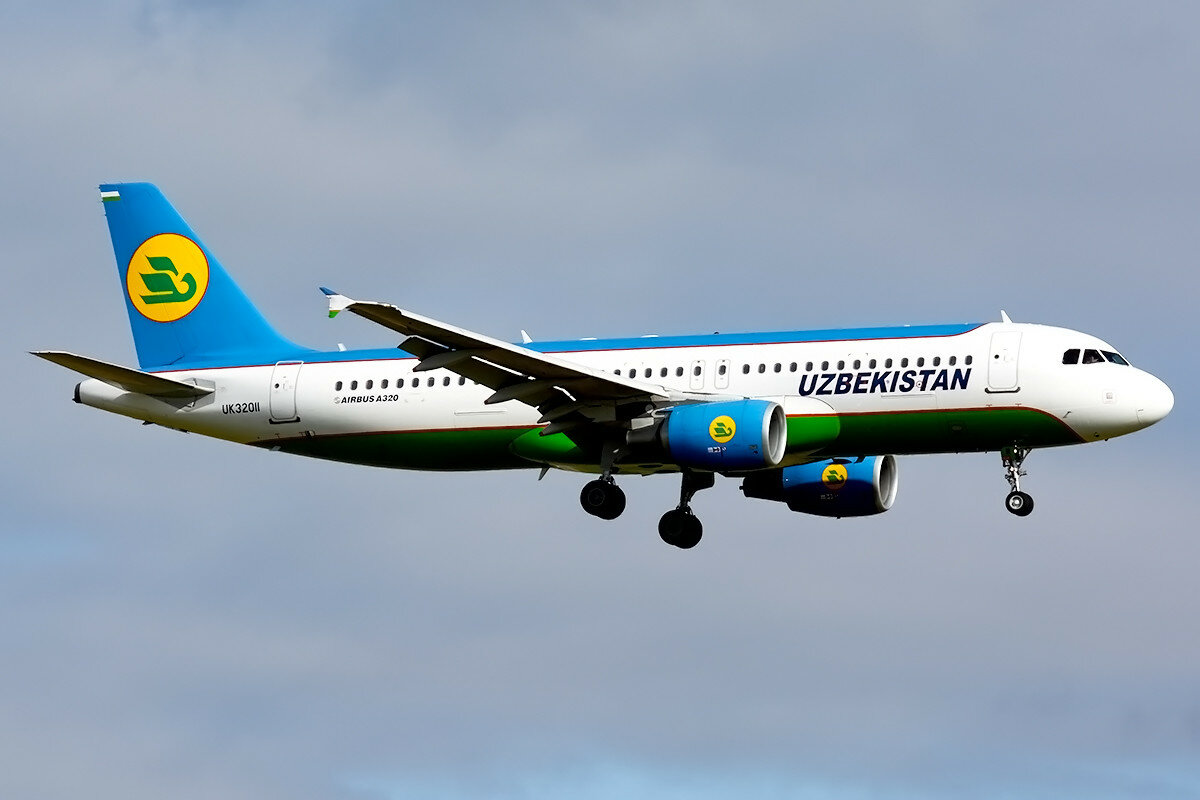 Airbus A320-214. Uzbekistan Airways. UK-32011.