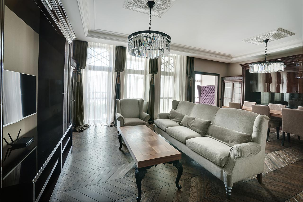 фотографии гостинной. квартира в Москве