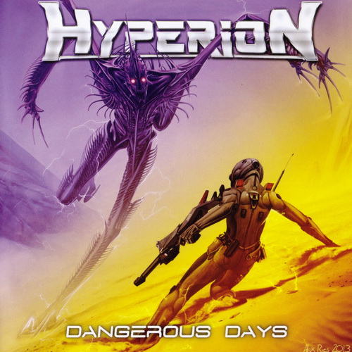Hyperion - 2017 - Dangerous Days [Fighter Records, FIGHT013CD, Spain]