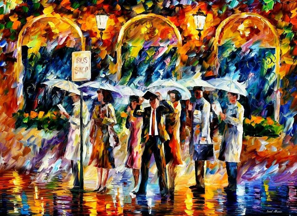 Картины Леонида Афремова