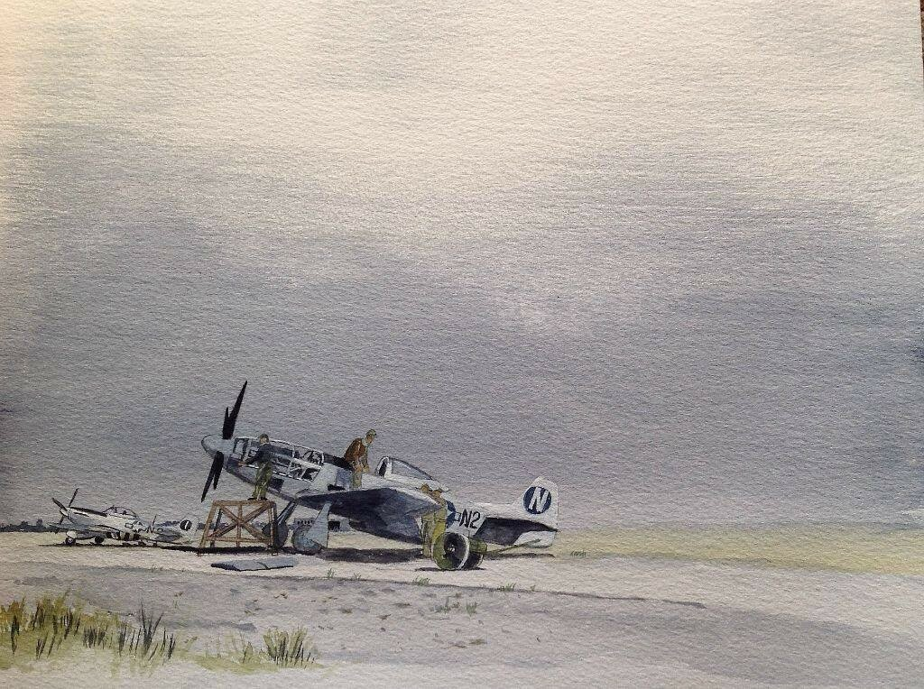 P51D Mustangs of the 383 Squadron of 364FG at Honnington. This is a work in progress.