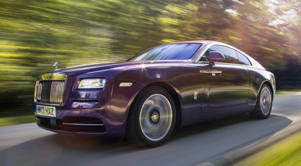 На фото: Rolls-Royce Wraith    По словам Франка Тиманна, рекордным для бренда годом в России ст