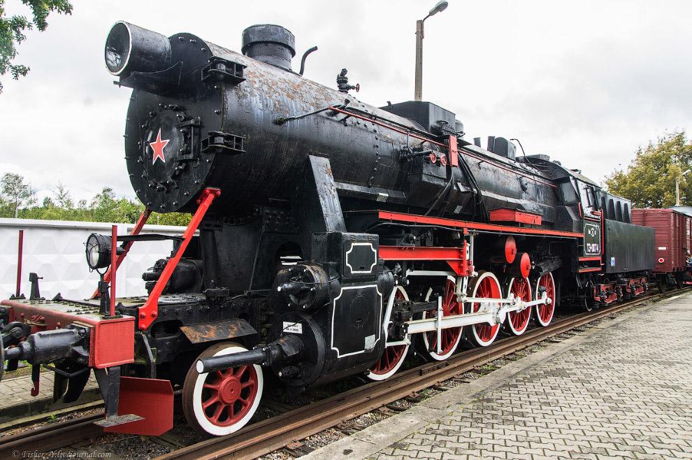 9. И ещё несколько ТЭ №2596. Построен в 1943 году в Германии.