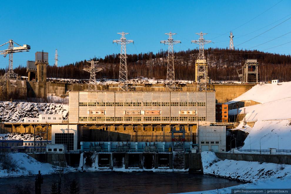 8. Для якутских просторов гидростанция во второй половине XX века была практически безальтернативным