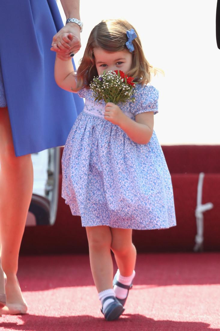 Принцесса Шарлотта во время визита в Берлин.