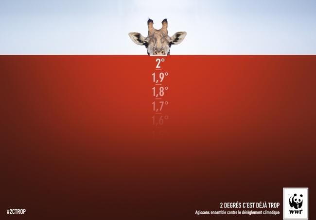 © Publicis Nurun/ WWF     Кампания направлена наувеличение контроля заизменениями клима