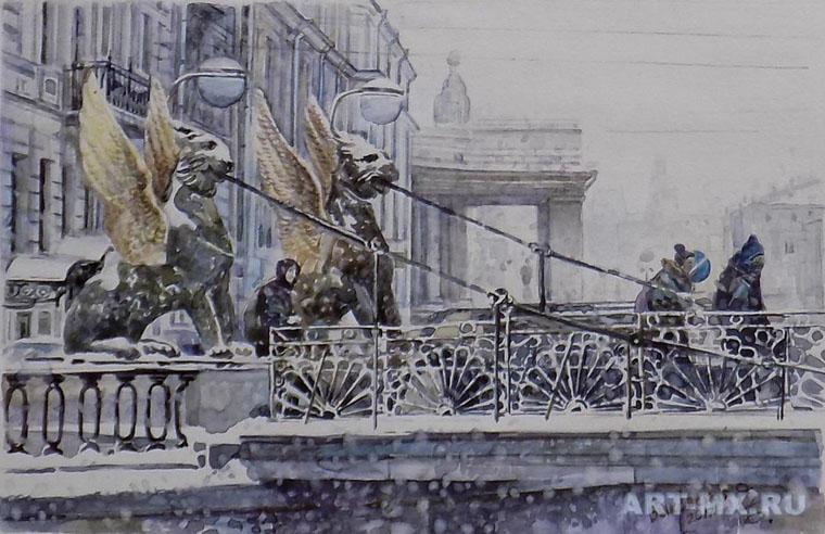 О.В.Быкосвкая Львиный мостик.jpg