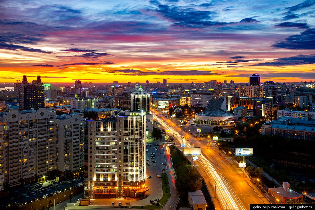 Новосибирск с высоты: лето-2017