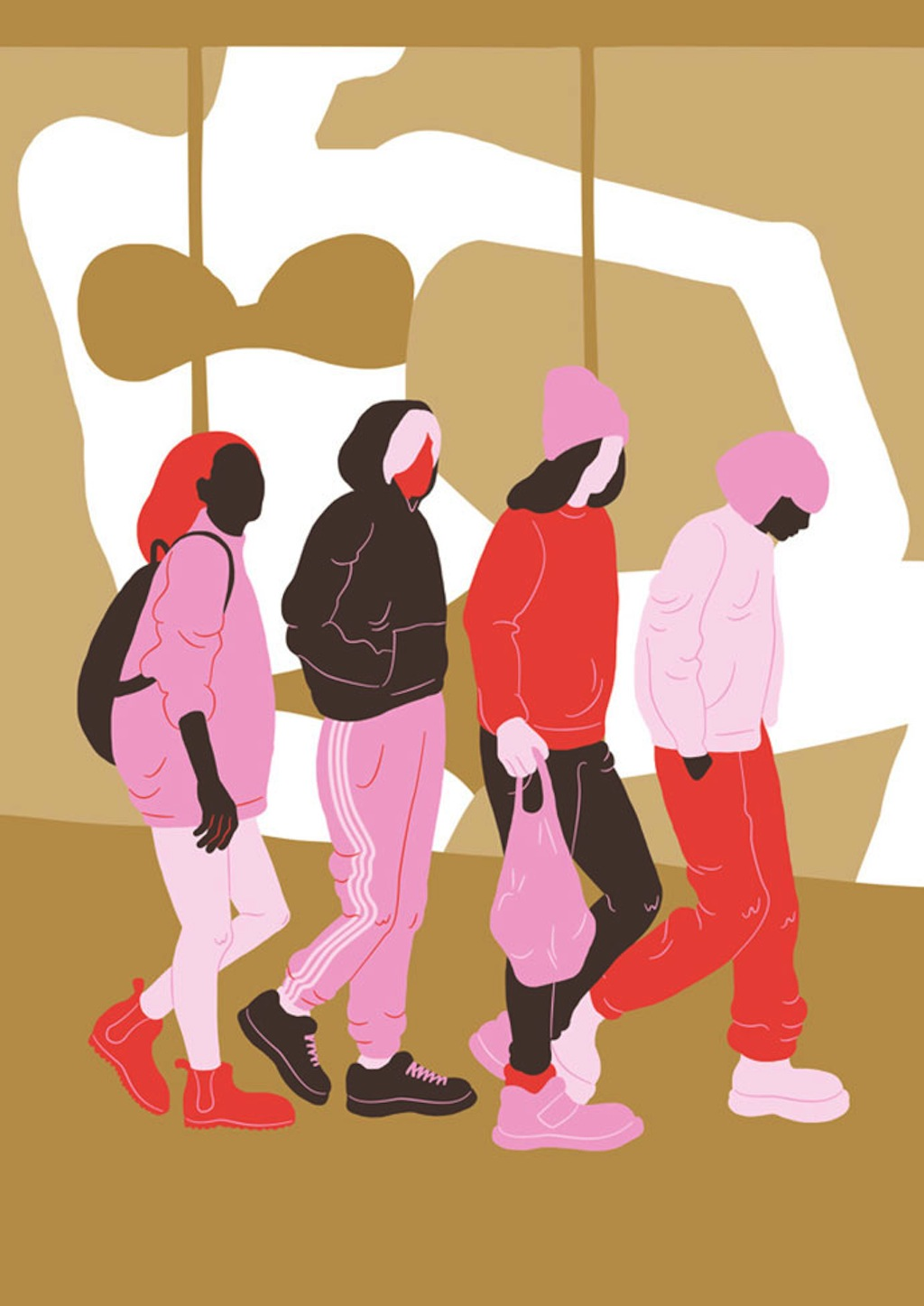 A Ode To Feminine Lines by Sara Andreasson