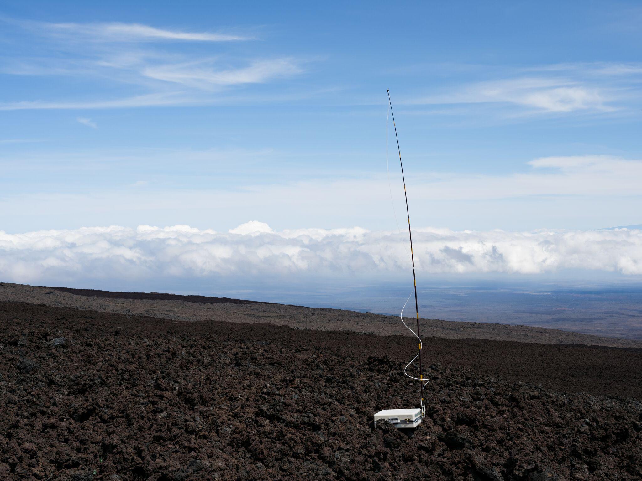 - Air Sampling, Mauna Loa Observatory, National Oceanic and Atmospheric Administration, Hawai'i © Lu