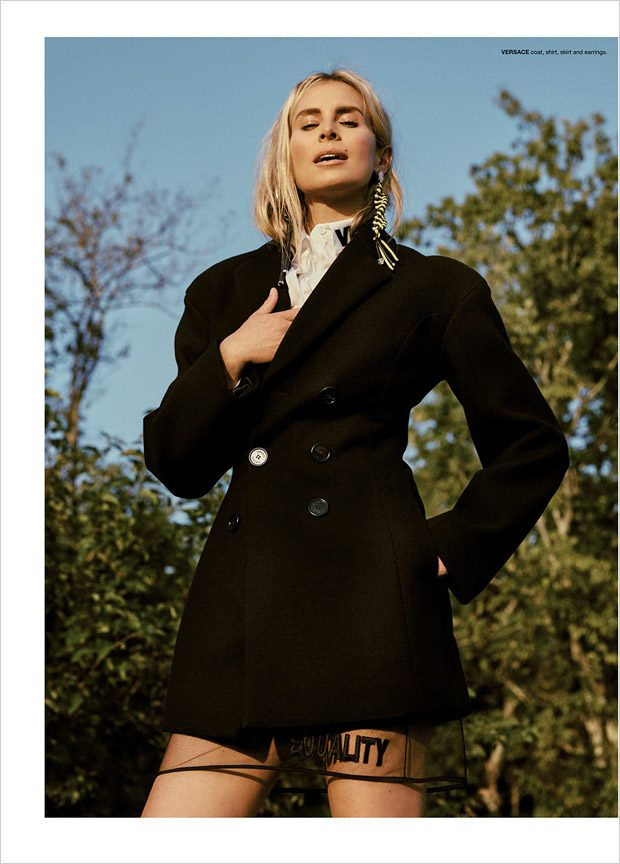 But Where, oh Where are the Horses: Niki Taylor for Flaunt Magazine