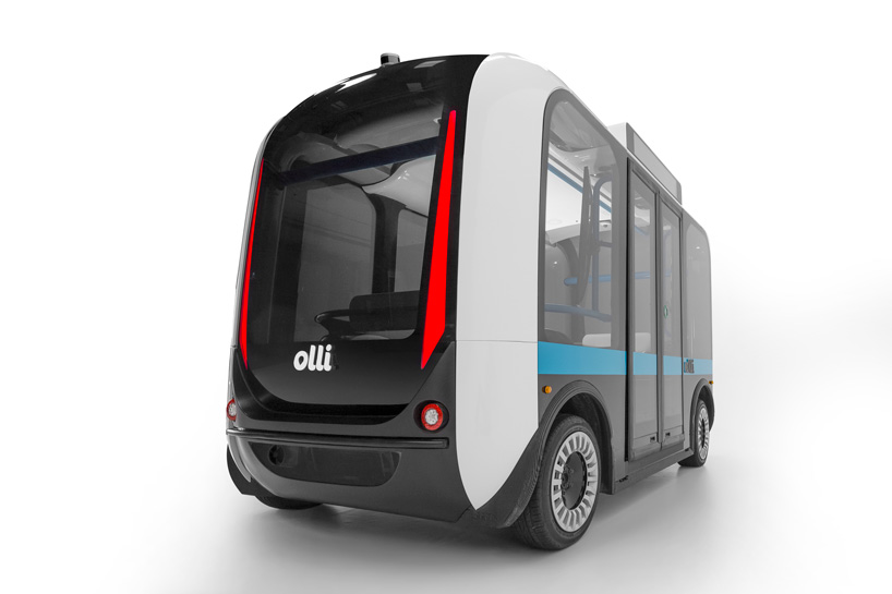 'Olli' by Local Motors is the world's first 3D printed self-driving bus
