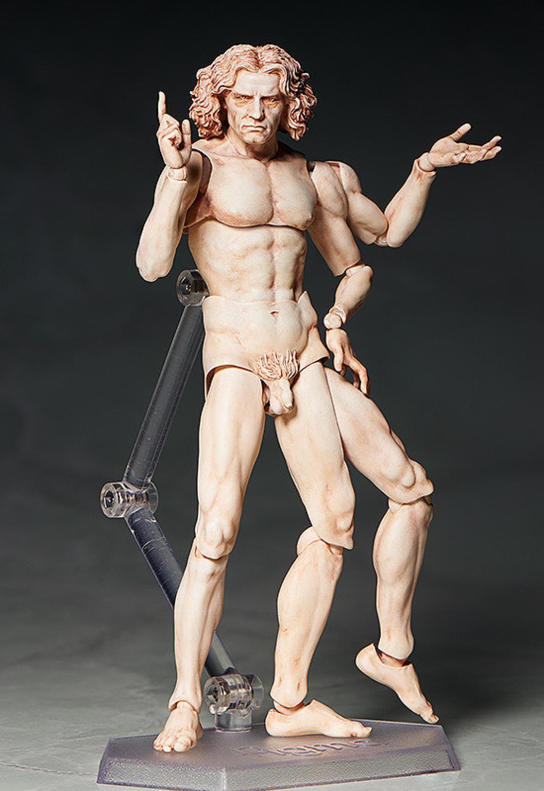 Vitruvian Man – The famous drawing by Leonardo da Vinci is now a figurine!