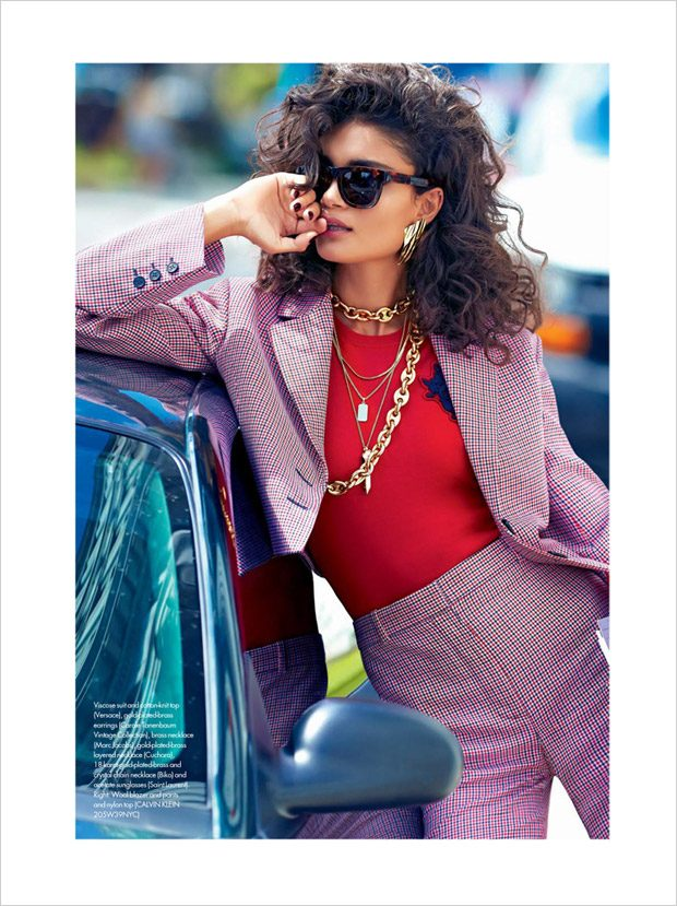 Full Power: Vie Suits Up for Elle Canada October 2017 Issue
