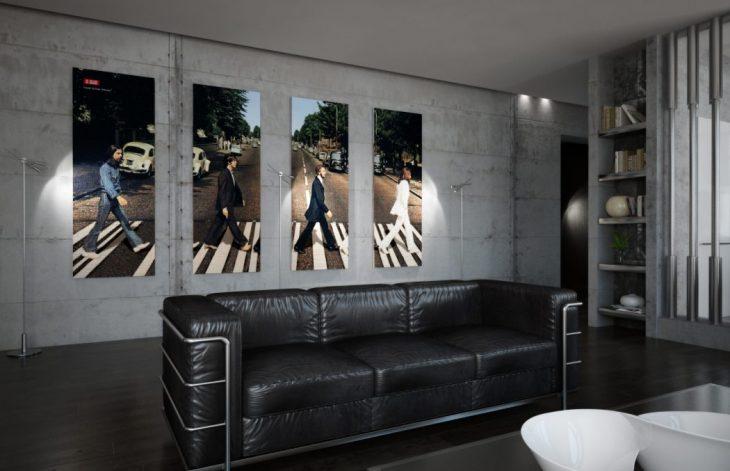 AlexLoft  designed this uxury high-tech apartment located in St. Petersburg, R