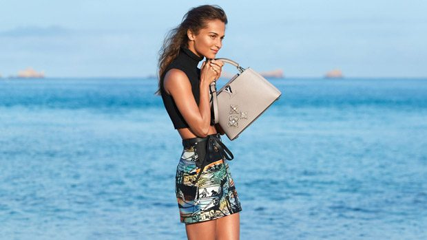 Alicia Vikander is the Face of Louis Vuitton Cruise 2018 Collection