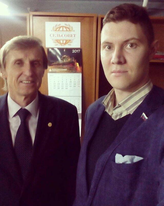 Денис Стяжкин и Василий Мельниченко