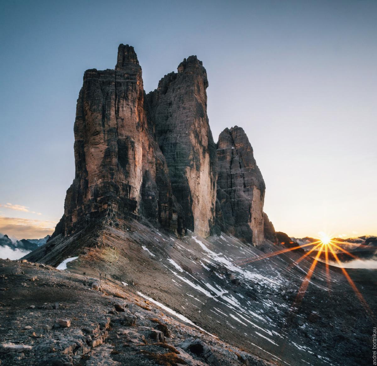 Тре-Чиме-ди-Лаваредо, Сестинские Альпы, Доломитовые Альпы
