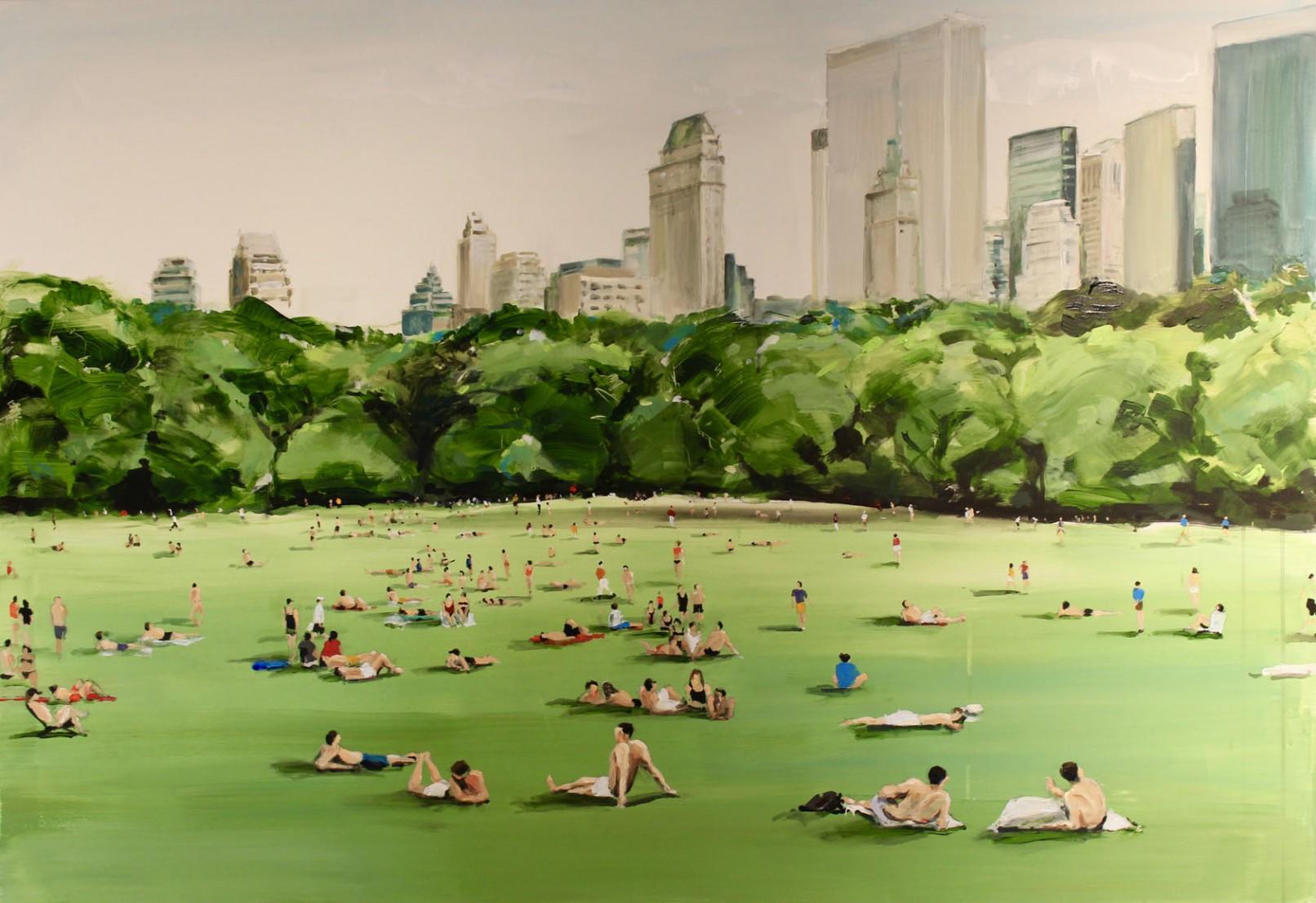 Everyday Scenes Painted by Sanja Milenkovic