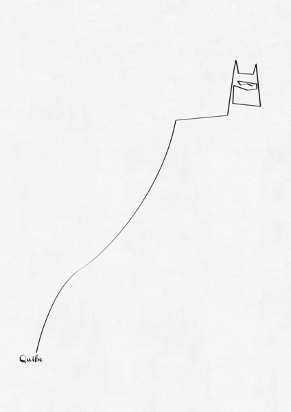 Minimal One Line Prints - Quibe
