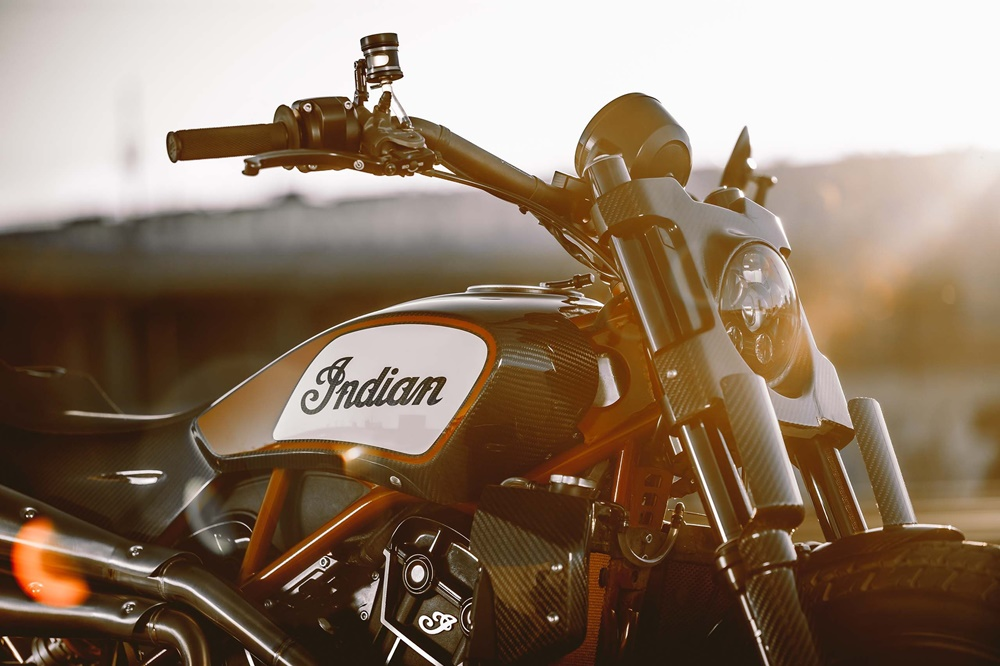 Концепт стрит-трекера Indian Scout FTR1200