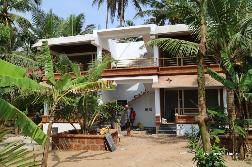 Строительство нового корпуса в Namaste Samudra