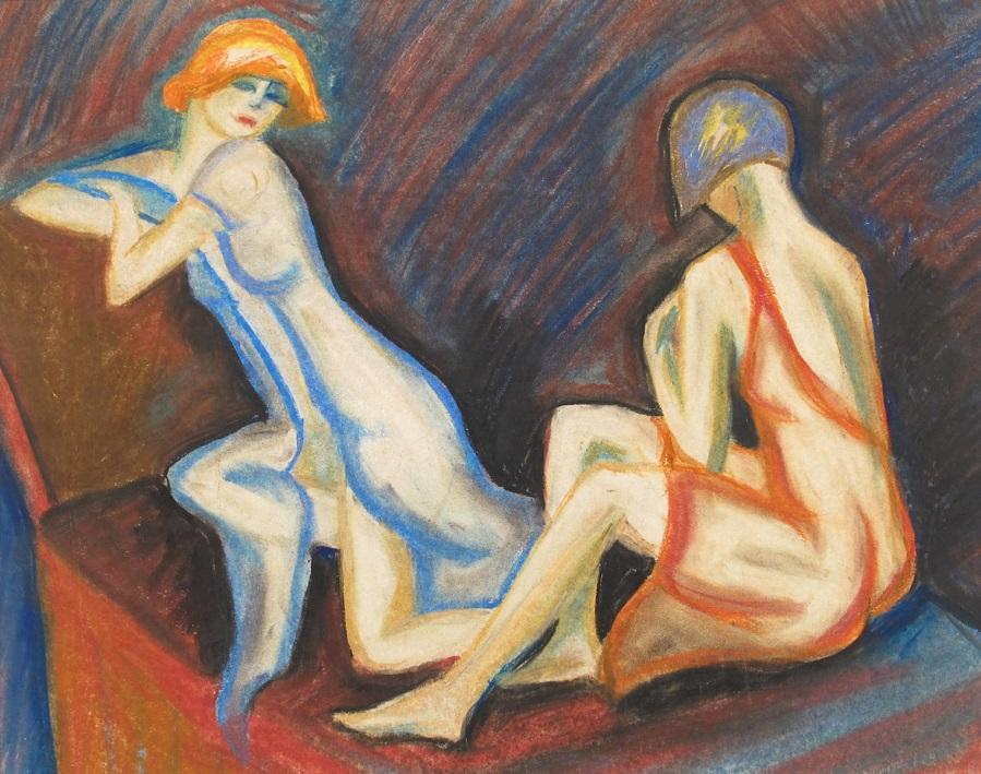 Этюд двух женщин (Study of two Women)