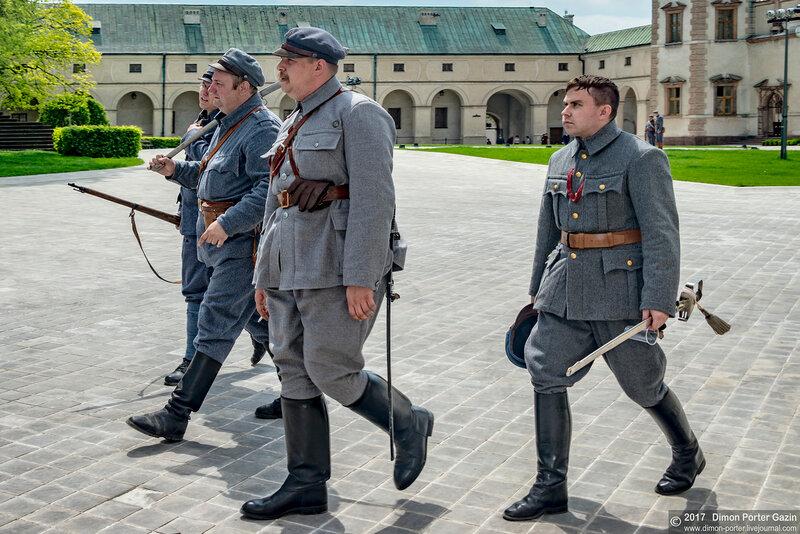 Польша. Кельце. Снимается кино