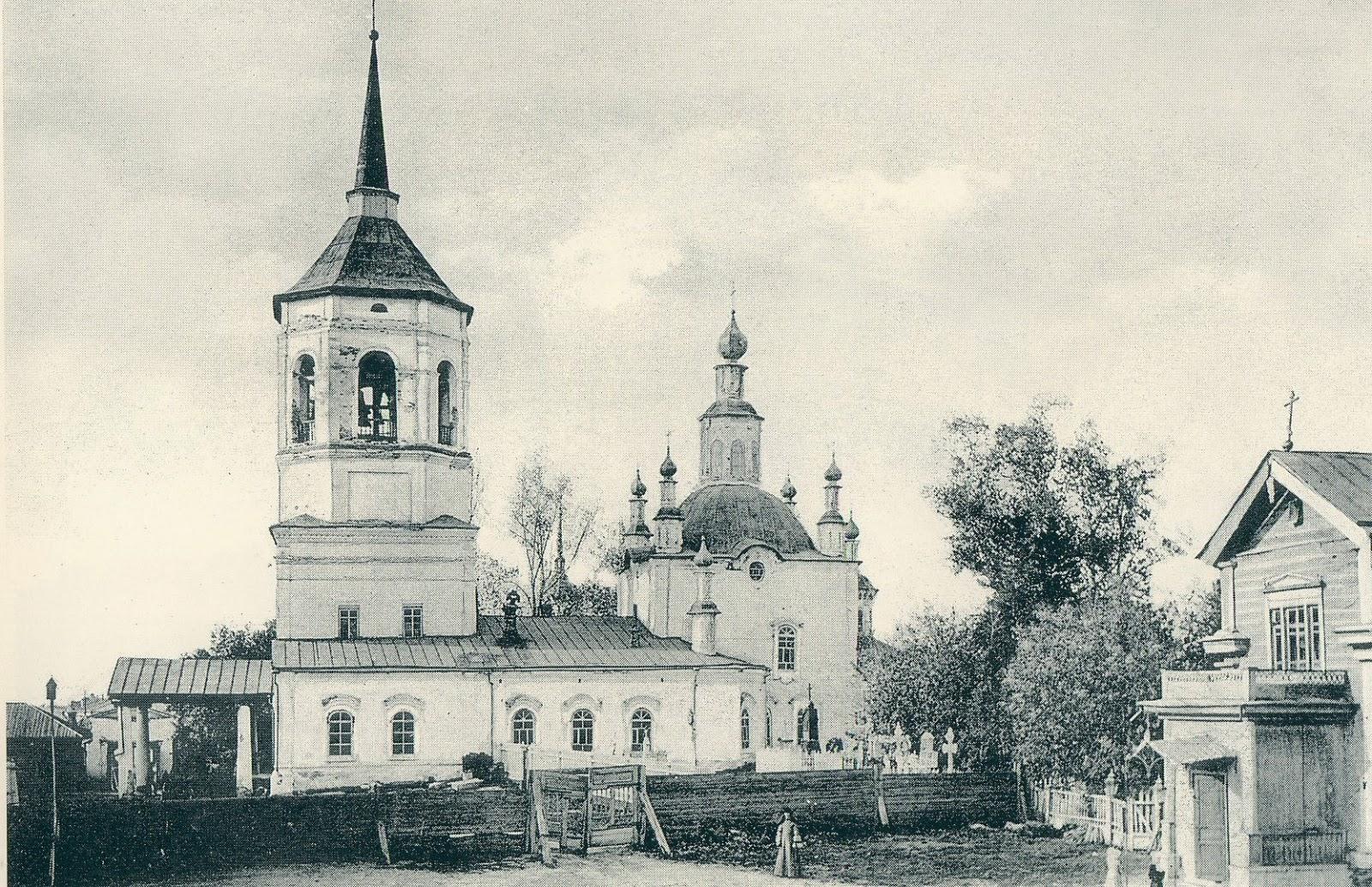 Казанский храм Богородице-Алексиевского мужского монастыря