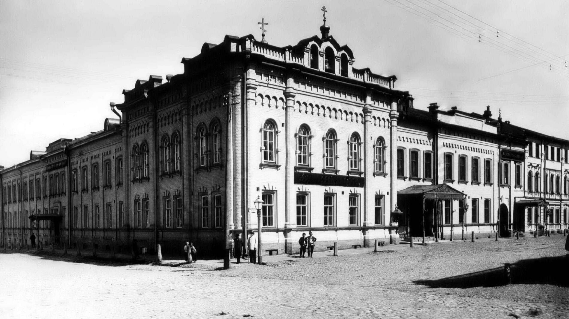 Варварская улица. Александровская богадельня и родильный приют
