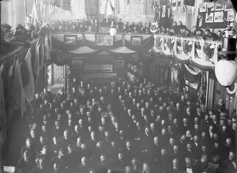 1890-е. Общее собрание акционеров акционерного общества Сормово